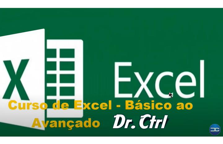 Curso de Excel Básico ao Avançado - Dr Ctrl