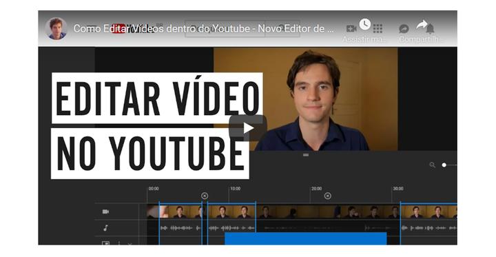 Como Editar Vídeos no Youtube - Novo Editor de Vídeo