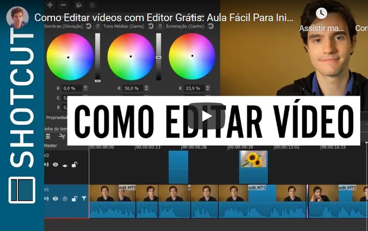 Shotcut: Edição de Vídeo em Programa Grátis